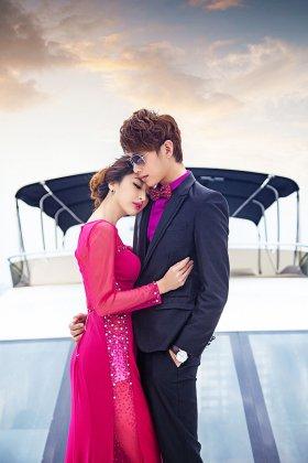 厦门创意婚纱照的拍摄场景可用渲染婚礼的浪漫