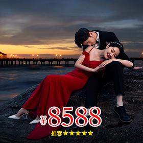 厦门拍婚纱照多少价位团购价格(特惠套系F3)
