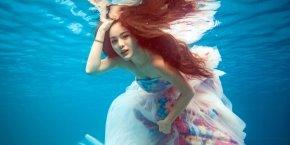 如何更好更完美地拍好一组水下婚纱照