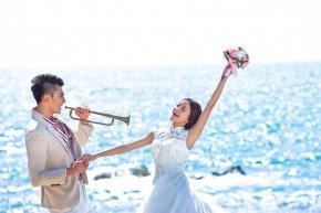 美丽的新娘 如何让浪漫的色彩充满了迷人的创意