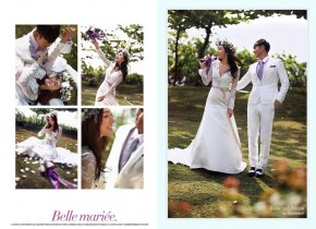 在春天拍婚纱照女人不容错过的婚纱品牌