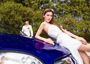 漳州婚纱摄影是如何拱配浪漫式婚纱的