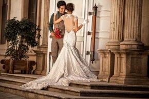 在龙岩拍婚纱照时如何展现甜美的笑容,让新娘