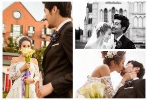 多情调的婚礼会让新娘与新郎欢喜不已