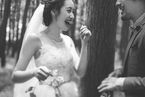 拍婚纱照是女人幸福一生的初期表现