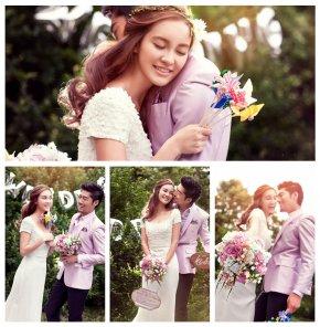 在厦门拍婚纱照色彩对婚纱及婚礼的重要性