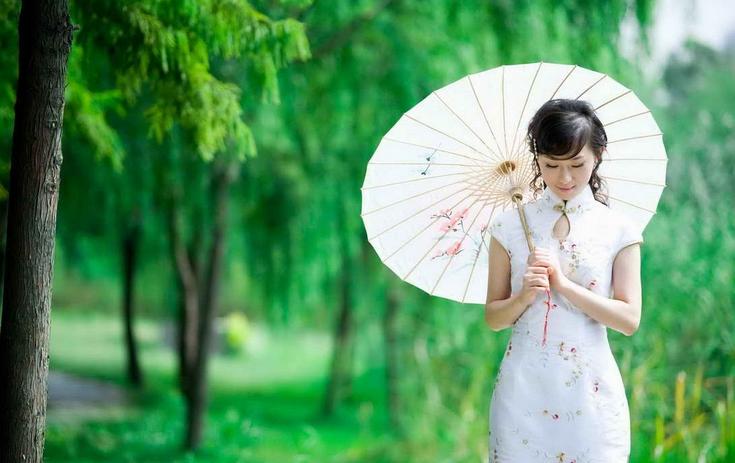旗袍背景素材超大图