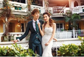厦门婚纱摄影充分展示自己阳光自信才是最美
