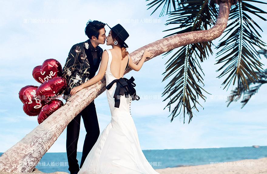 厦门拍婚纱照哪些景点推荐自然的天然摄影外景