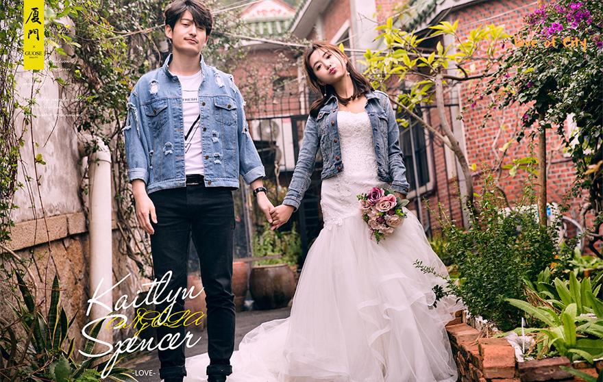 厦门比较好的婚纱摄影